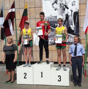 Baltijas komandu čempionāts soļošanā (27.04.2019., Birštonā)