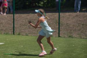 Tenisa kortu un vārtu stabu atklāšana (22.06.2019)