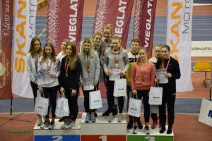 Latvijas čempionāts vieglatlētikā telpās U-20 un U-18 vecuma grupām  Kuldīgā (08.-09.02.2019)
