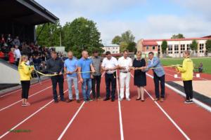 Preiļu novada Bērnu un jauniešu sporta skolas renovētā stadiona svinīgā atklāšana (31.08.2019)